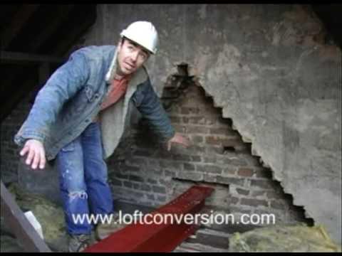 Loft Conversion Steel Beams Youtube