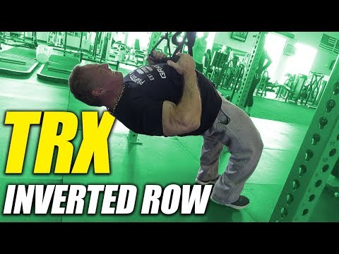 Exercise Index TRX Inverted Row