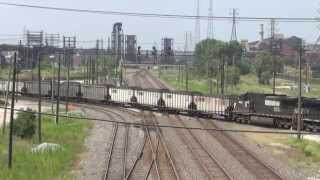 Railfanning East Chicago, IN (CP502) Trains Pt. 4