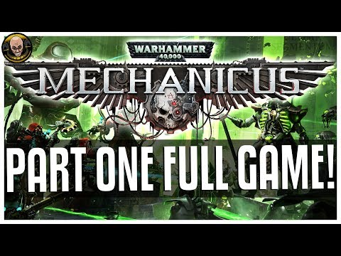 Lets Play: MECHANICUS - Part One! Full Game Version!