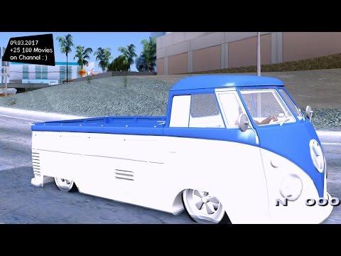 Volkswagen Combi - GTA SA Mobile 2160p / 🔥 4K / 60FPS 🔥 GTX 1080 _REVIEW