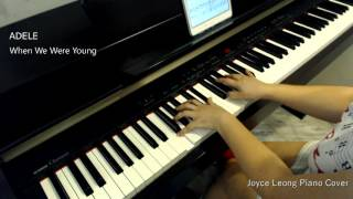 Adele - When We Were Young - Piano Cover & Sheets