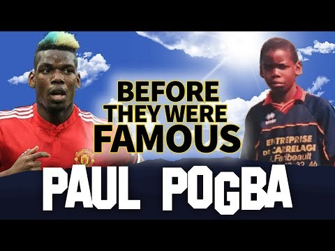 PAUL POGBA | Before They Were Famous | France FIFA World Cup 2018