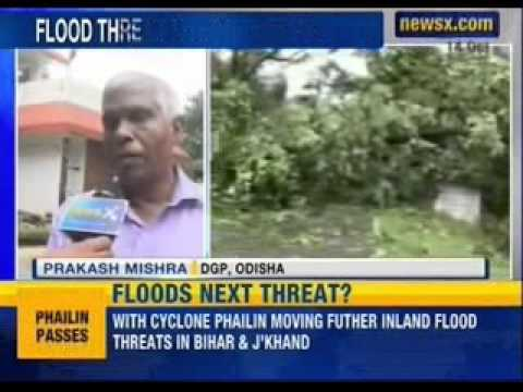 NewsX: Flood threat in Mayurbhanj and Baripada districts of Odisha