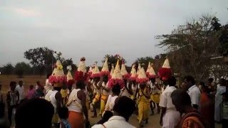 Karagam Folk Dance in Temple