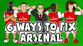 6 ways to fix Arsenal! ► 442oons x Onefootball