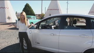 Behind the Wheel With Lindsay *Route 66 Edition* - 2014 C-Max Energi