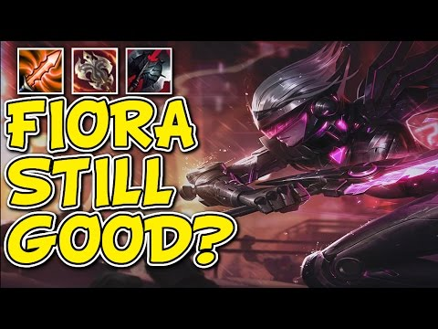 FIORA TOP CARRY GAMEPLAY - Unranked to Masters Episode #91
