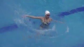Урок синхронного плавания в фитнес-центре ГОГОЛЬ
