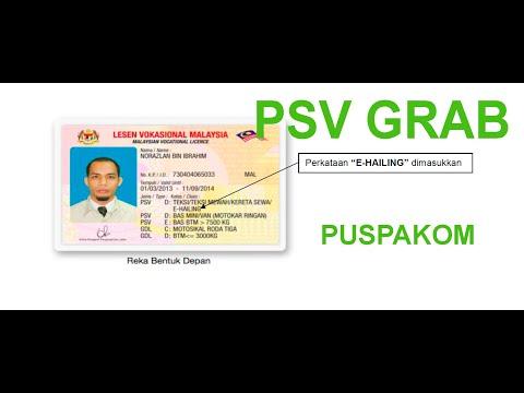 How To Register Psv For Grab