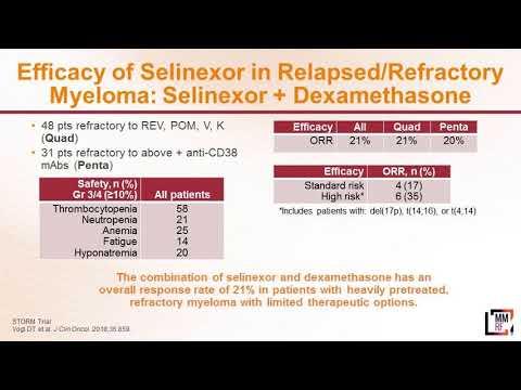 Dr. Jeremy Larson on Selinexor (XPOVIO)