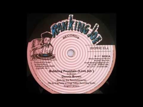 DENNIS BROWN - Bubbling Fountain (Love Jah) [1980]