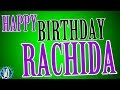 HAPPY BIRTHDAY RACHIDA! 10 Hours Non Stop Music & Animation For Party Time #Birthday #Rachida