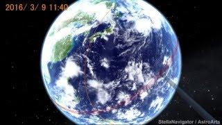 1997年3月9日の日食