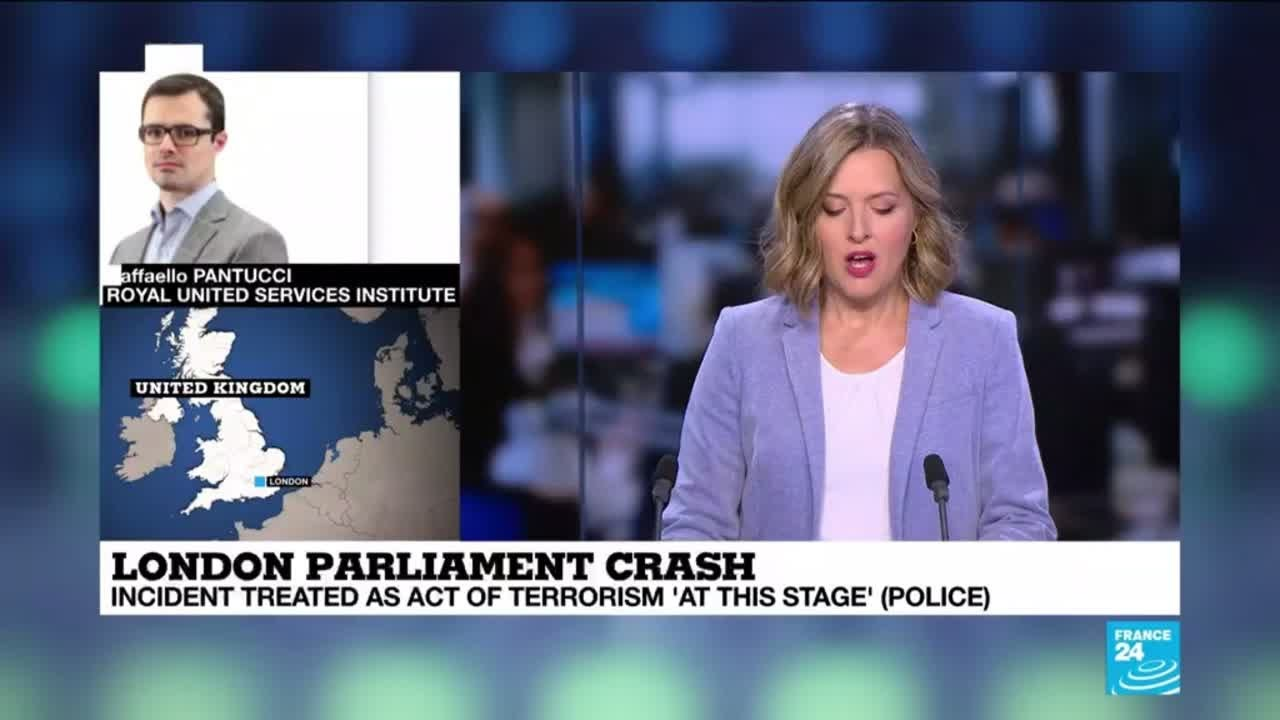 فرانس 24:London parliament crash: should we raise the security level in Britain?