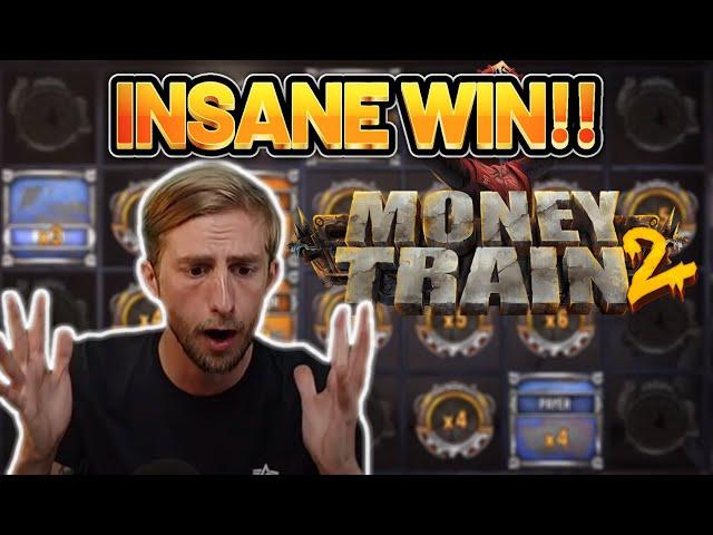 INSANE WIN! MONEY TRAIN 2 BIG WIN - CASINO Slot from CasinoDaddys LIVE STREAM