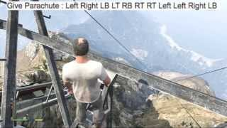 All GTA 5 Cheat Codes : Xbox 360 & PS3 (Grand Theft Auto V Cheats)