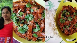 how to cook traditional delicious dryfish curry with brinjal combination|enduchepala vankaya koora