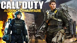 "Advanced Warfare - ""EDGE OF TOMORROW"" Combat Jacket - Tom Cruise Class Setup (Call of Duty)"