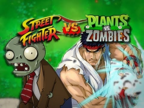 Street Fighter VS. Plants VS. Zombies
