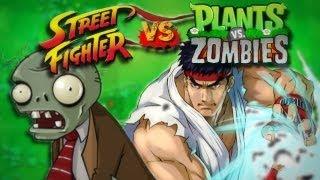 Street Fighter VS. Plants VS. Zombies
