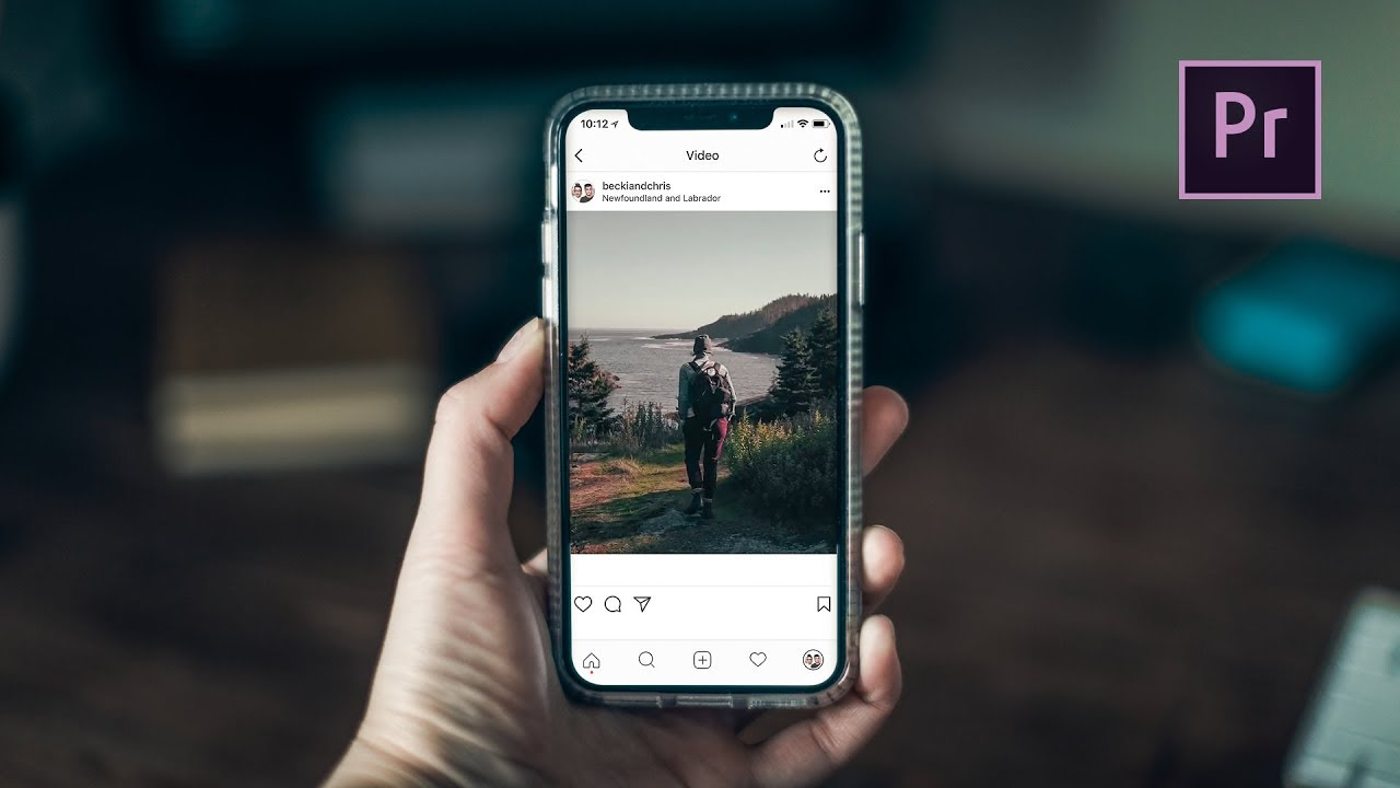 How To Create Vertical Videos For Instagram In Premiere Pro CC