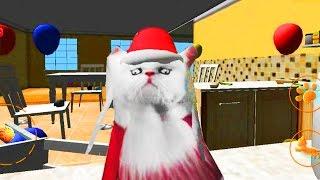 Играем в СИМУЛЯТОР КОТА #3 приключение мульт игры про кошек развлекательное видео для детей