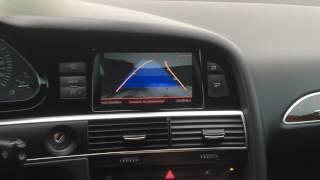 Работа передней и задней камеры Audi a6 c6