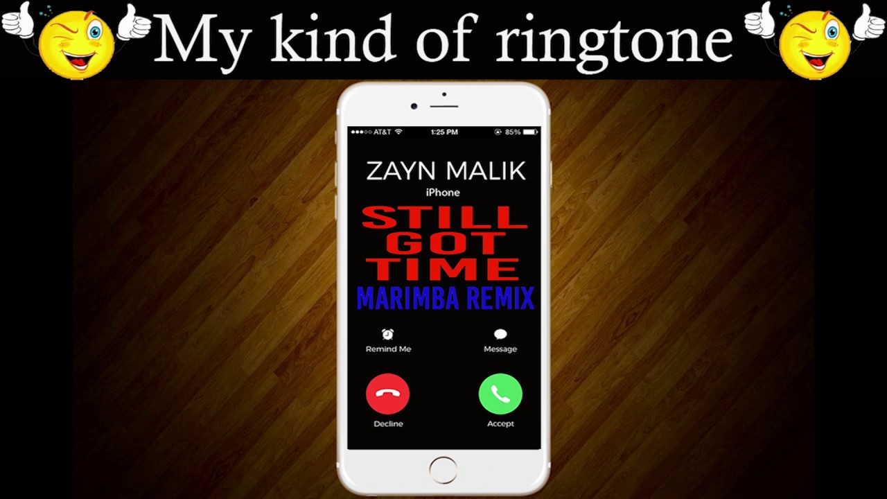 iphone marimba remix iphone ringtone still got time marimba remix 12022