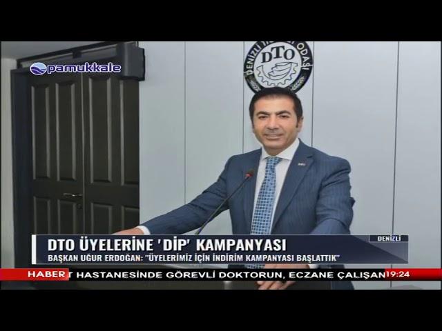 Pamukkale TV-DTO üyelerine özel indirim kampanyası 27.06.2019