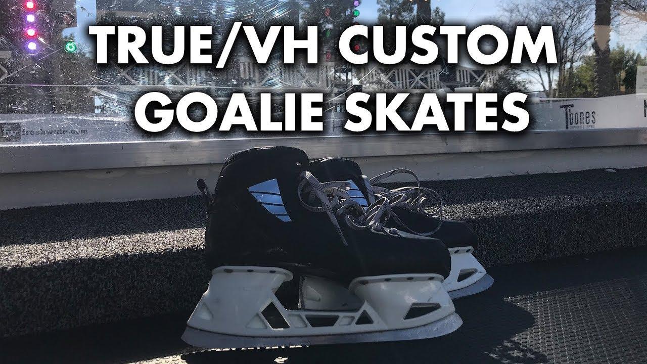 REVIEW! True/VH Custom Goalie Skates