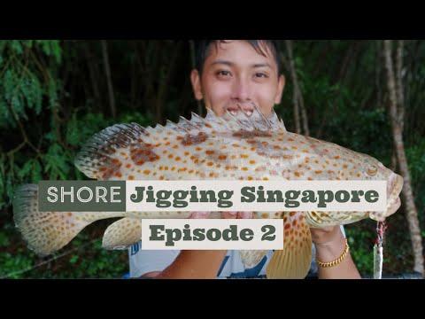 Shore Jigging 岸ジギング In Singapore Episode 2