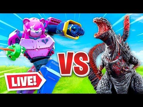 the *LIVE* MONSTER vs ROBOT event in Fortnite!
