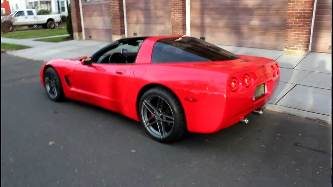 crazy loud c5 corvette exhaust system youtube. Black Bedroom Furniture Sets. Home Design Ideas