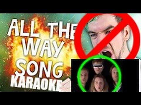 Jacksepticeye & Schmoyoho - All The Way Karaoke (Harmonization Not Removed!)