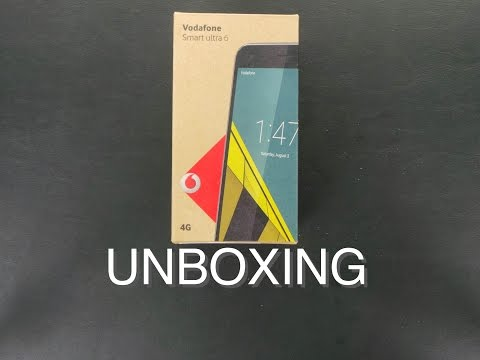 Vodafone Smart Ultra 6 Unboxing