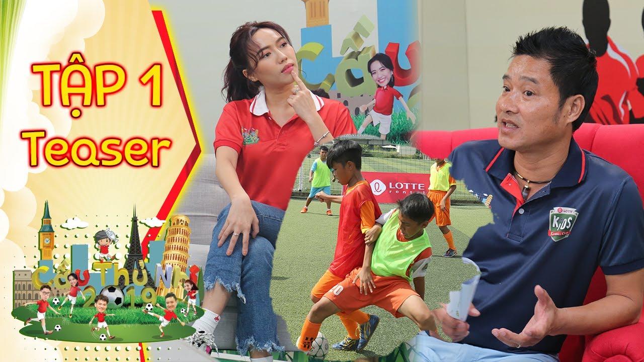 Hồng Sơn, Diệu Nhi căng não trong ngày tuyển chọn đầu tiên | Cầu Thủ Nhí 2019 | Teaser Tập 1