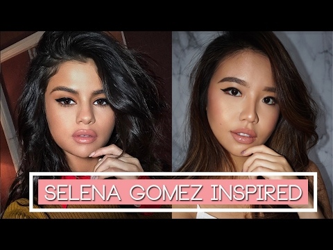 BEGINNER'S Valentine's Makeup ♥ Selena Gomez Transformation ♥ BAHASA Subs