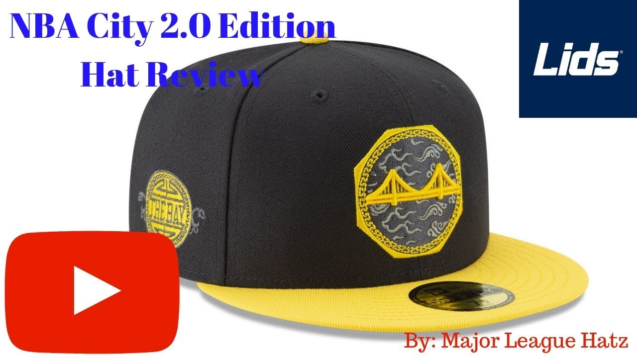 3ccf7f21fd960 New Era Golden State Warriors 2.0 City Edition Hat Review by Lids ...