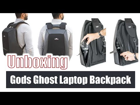 Unboxing Gods Ghost Laptop Backpack ver 2.0 | Amazon Most Salable Laptop Bag