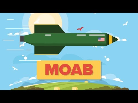 MOAB - Mother of All Bombs GBU-43/B Massive Ordnance Air Blast - US Military