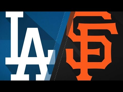 4/24/17: Pence, Cain lead Giants past Dodgers, 2-1