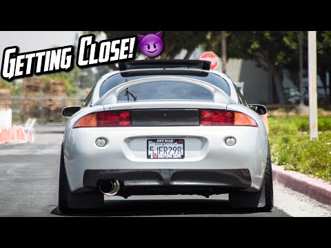 Mitsubishi Eclipse GSX Gets NEW CAR PARTS! | OhmRacing Ep.26
