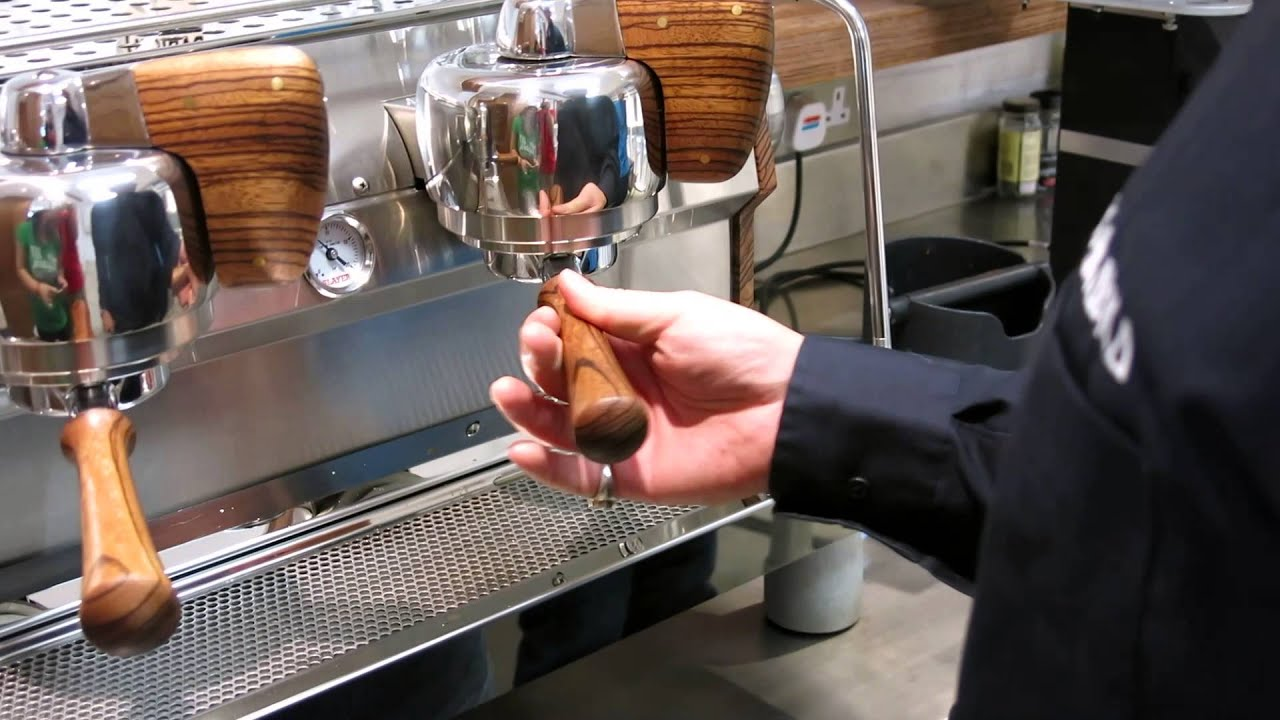 Electronic Slayer Coffee Machines work on slayer espresso machine at arabica youtube