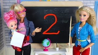FOR THAT DOUBLE ? Cartoon #Barbie Pro School School Dolls for Girls Toys