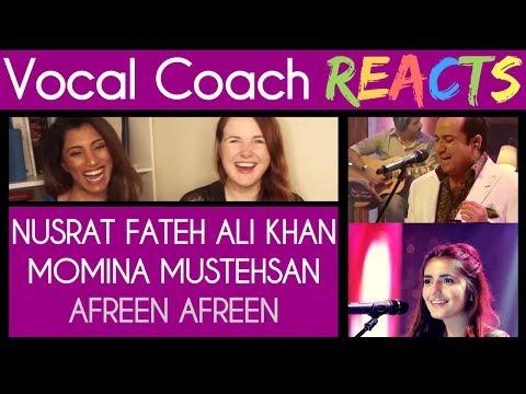 Vocal Coach and UA Director react to Rahat Fateh Ali Khan & Momina Mustehsan - Afreen Afreen