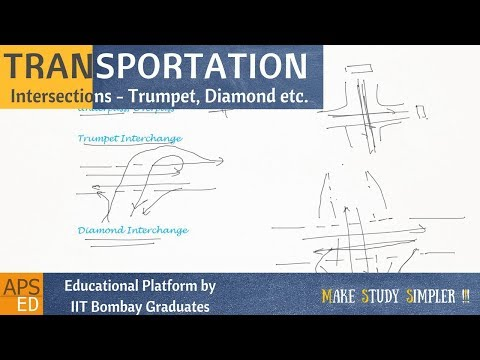 Grade Separated Intersections | Transportation Engineering