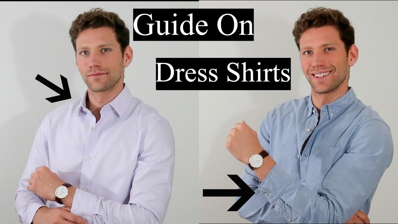 The Ultimate Guide On Dress Shirts Everything You Need To Know