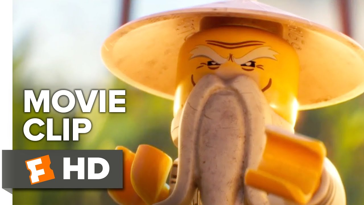The lego ninjago movie official movie clip sensei wu - Sensei ninjago ...