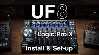 UF8 Logic Pro Install & Set-up